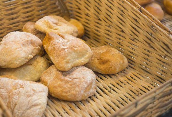 Cesta de panes de Hostelería